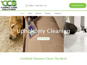 Christchurch Carpet Cleaning Experienced Operators